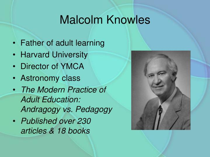 Father of adult learning