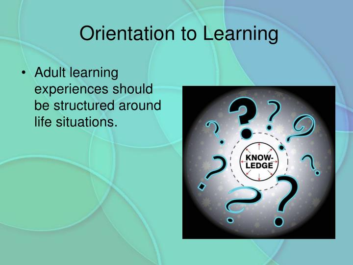 Orientation to Learning