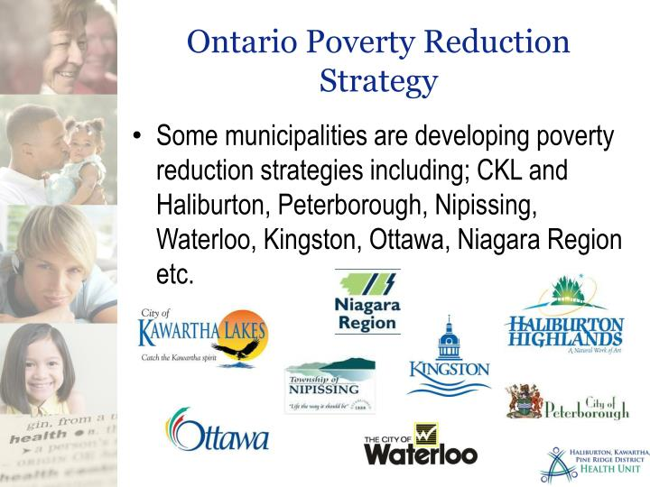 Ontario Poverty Reduction Strategy