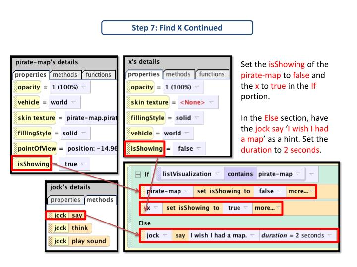Step 7: Find X Continued