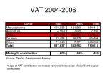 vat 2004 2006
