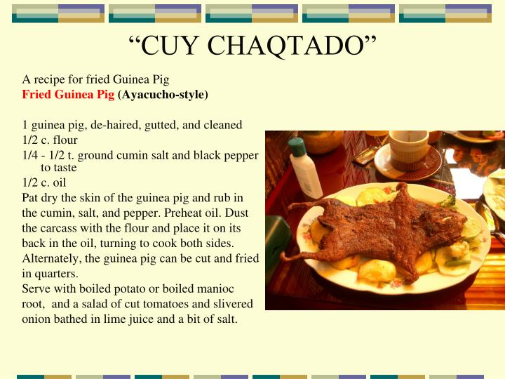 """CUY CHAQTADO"""