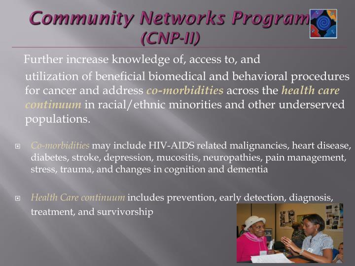 Community Networks Program