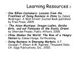 learning resources 2