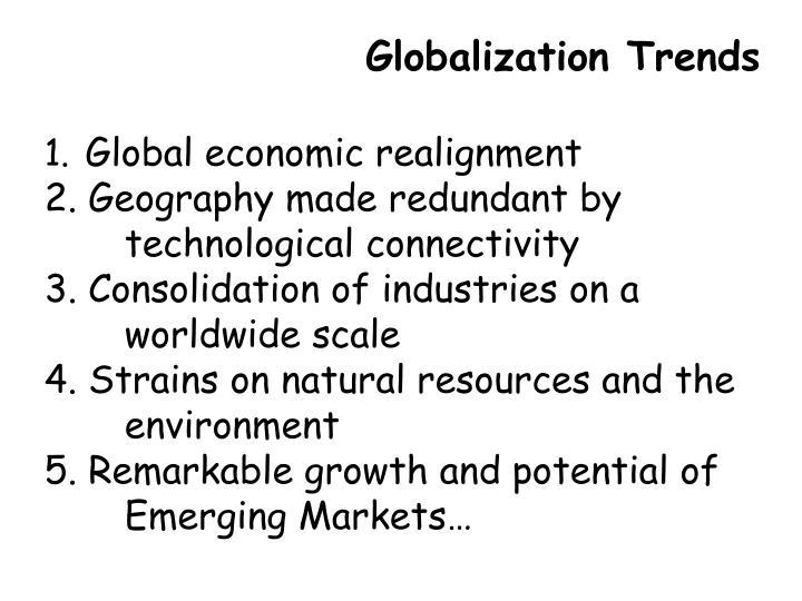 Globalization Trends