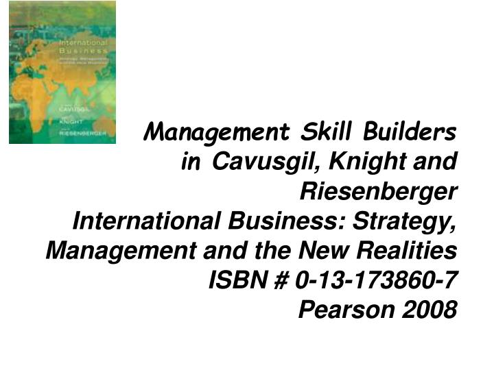 Management Skill Builders