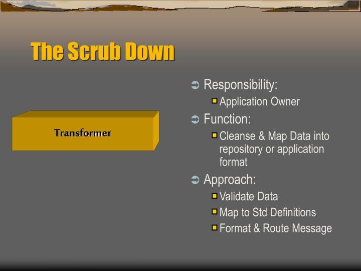 The Scrub Down