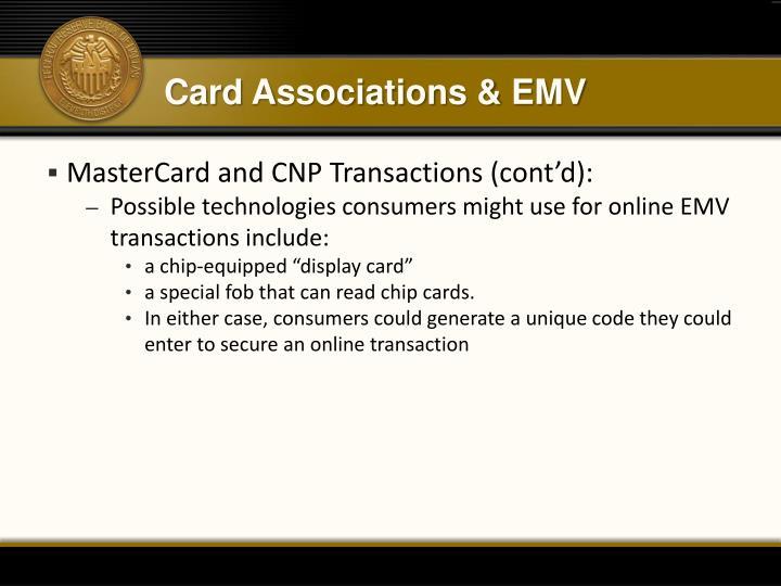 Card Associations & EMV