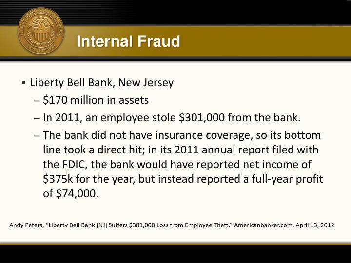 Internal Fraud