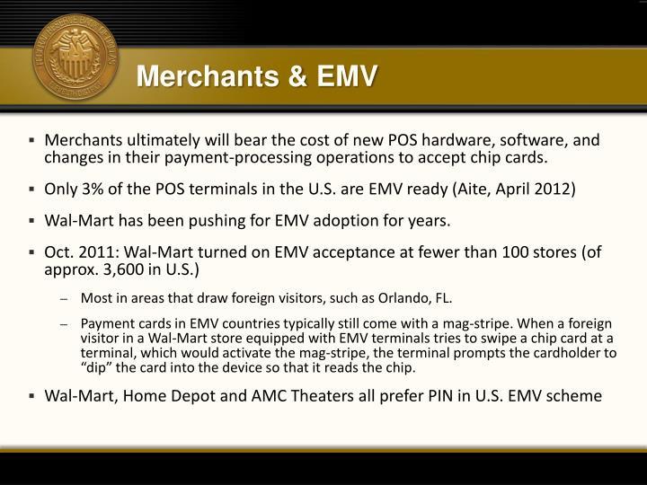 Merchants & EMV