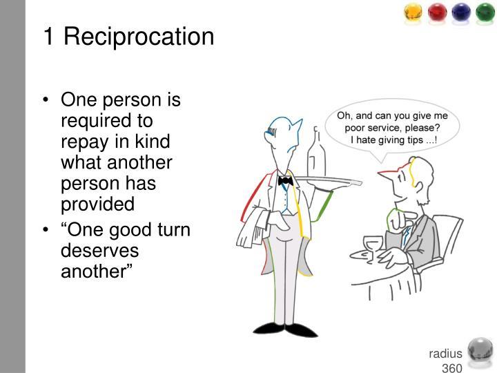 1 Reciprocation