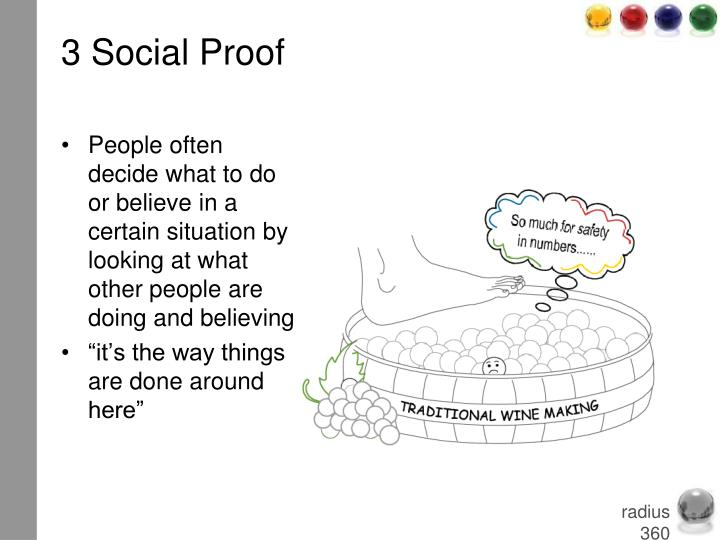 3 Social Proof
