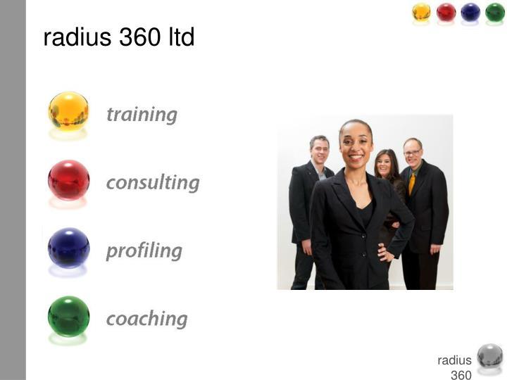 radius 360 ltd