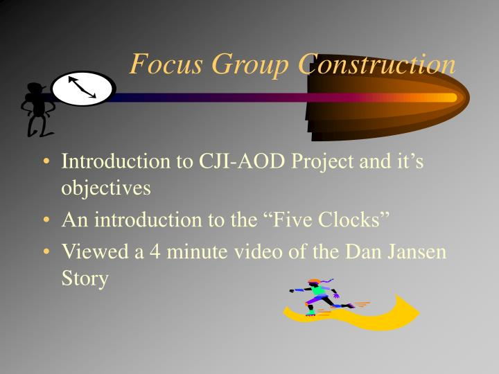 Focus Group Construction