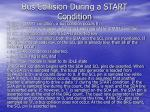 bus collision during a start condition