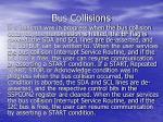 bus collisions