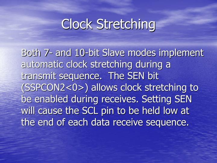 Clock Stretching