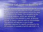 general call address support