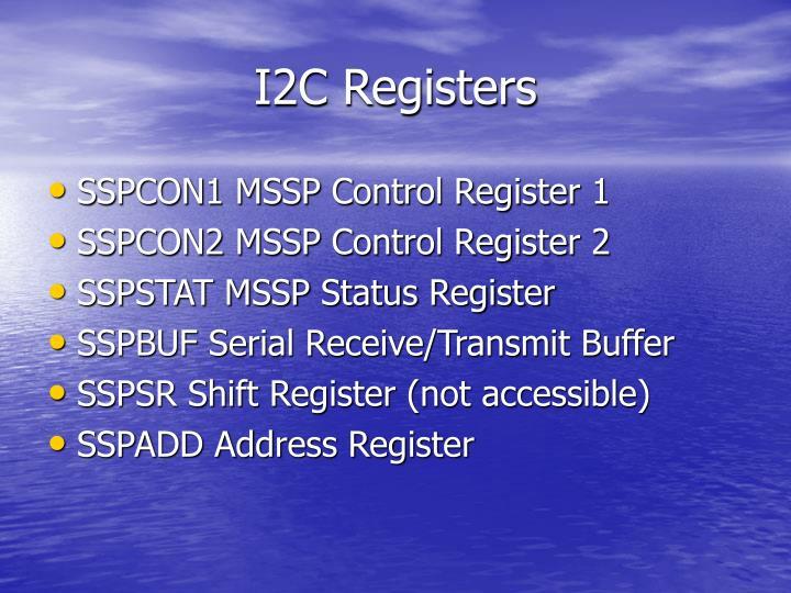 I2C Registers