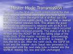 master mode transmission1