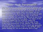 master mode transmission2