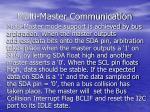 multi master communication