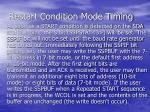 restart condition mode timing1