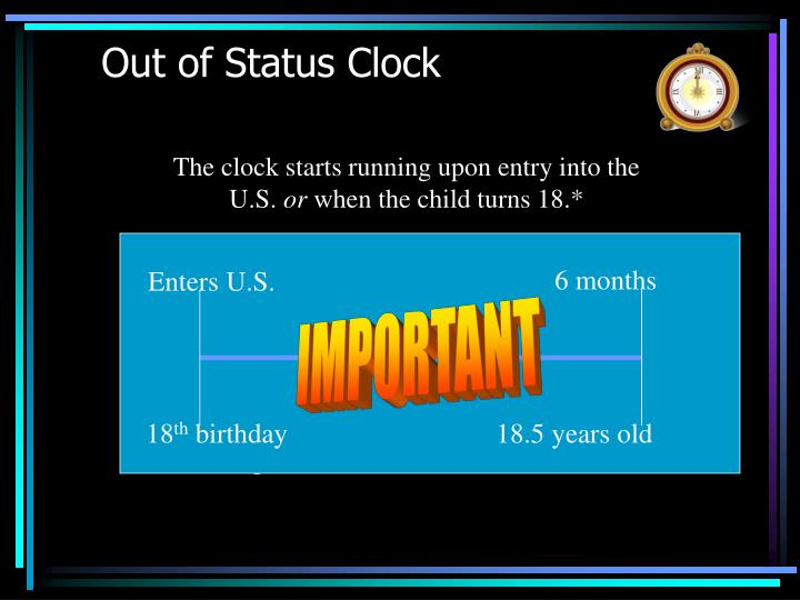Out of Status Clock