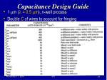 capacitance design guide