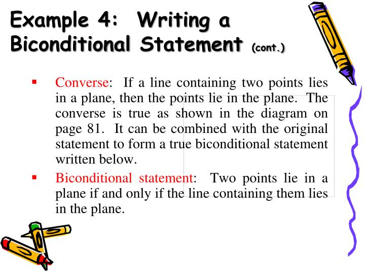 Example 4:  Writing a