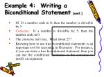 example 4 writing a biconditional statement cont1