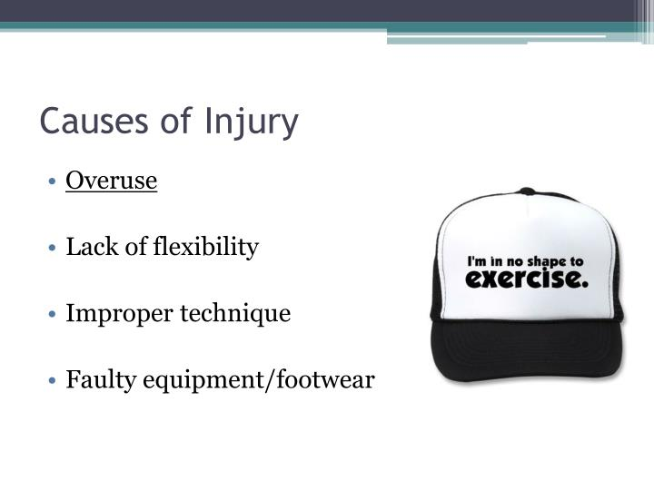 Causes of Injury
