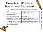 example 4 writing a biconditional statement2