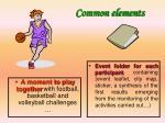 common elements2