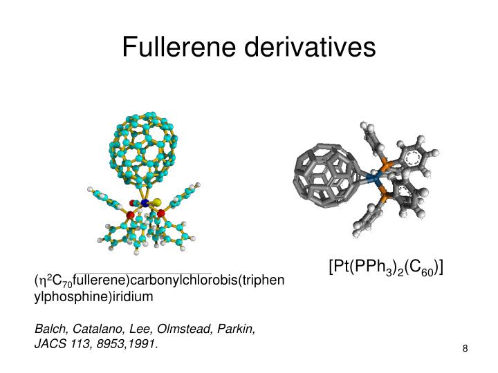 Fullerene derivatives