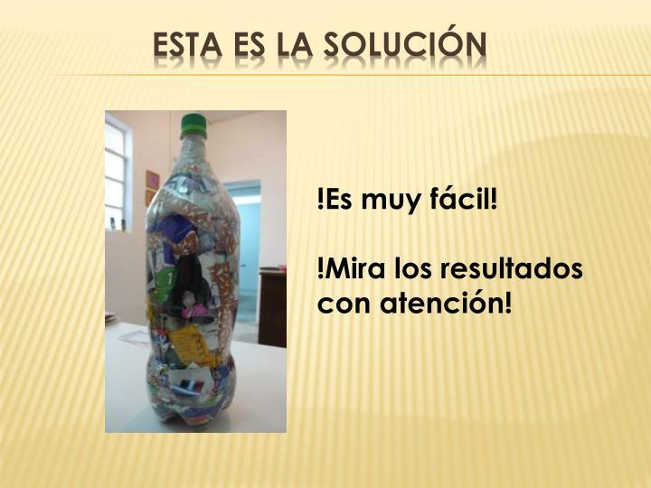 Esta es la solución