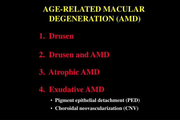 AGE-RELATED MACULAR