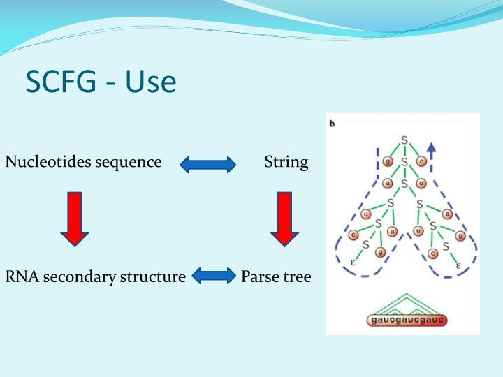SCFG - Use