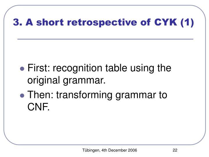 3. A short retrospective of CYK (1)
