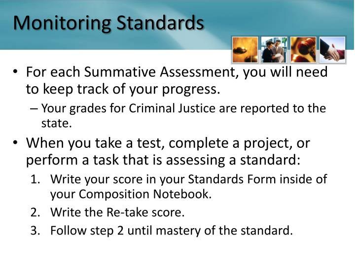 Monitoring Standards