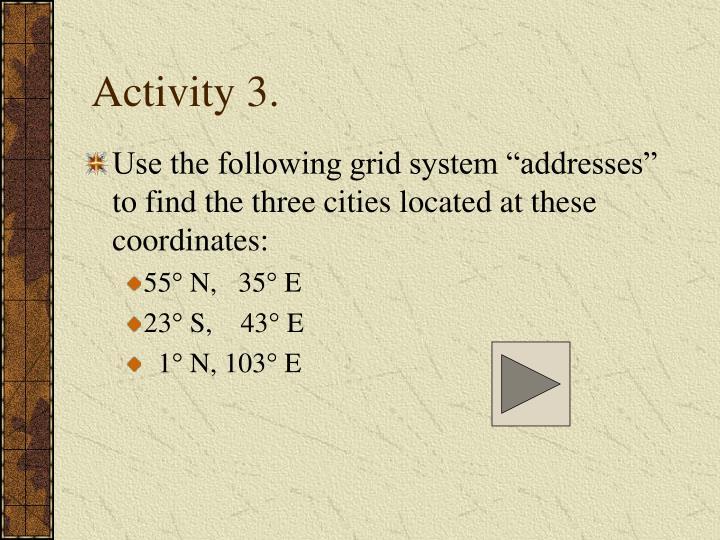 Activity 3.