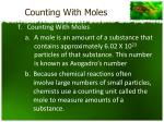 counting with moles