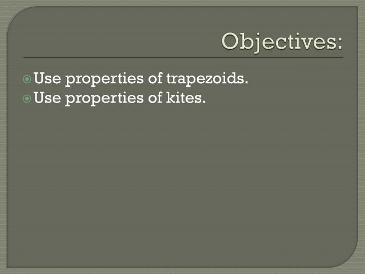 Objectives: