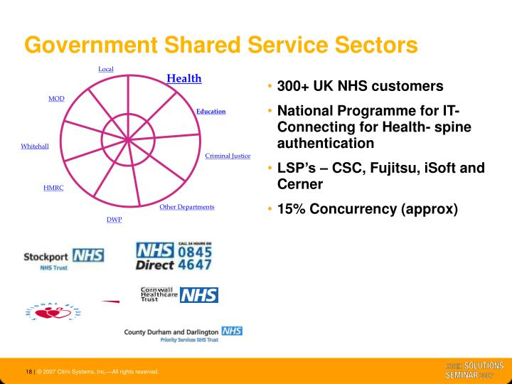 300+ UK NHS customers