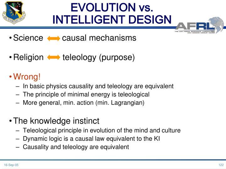 EVOLUTION vs.