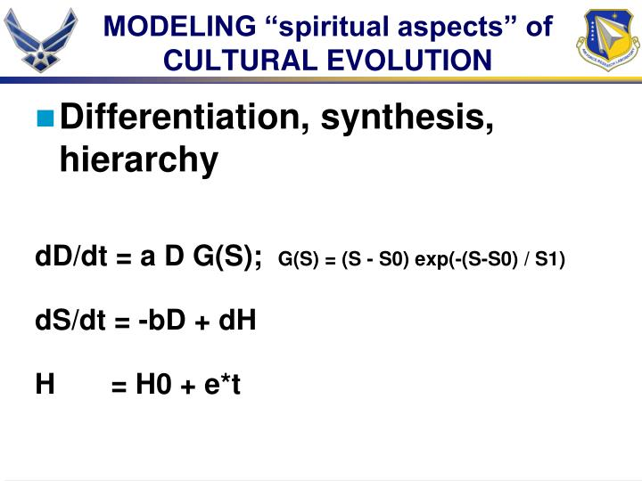 "MODELING ""spiritual aspects"" of"