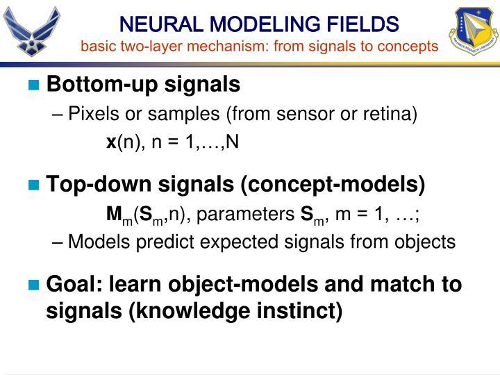 NEURAL MODELING FIELDS