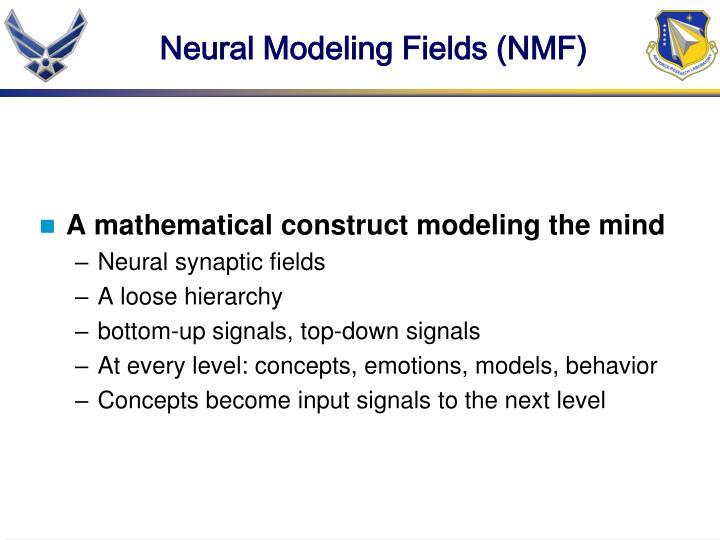 Neural Modeling Fields (NMF)