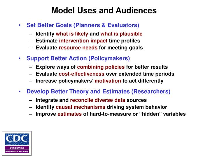 Model Uses and Audiences