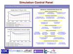 simulation control panel
